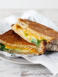 Grilled Cheese Poire & Miel
