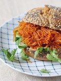Pulled Carrot Sandwich