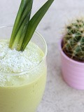 Smoothie Ananas-Avocat-Banane
