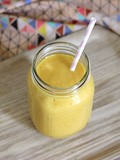Smoothie Mangue Banane Coco