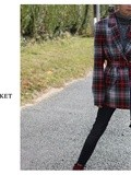 How to wear : The plaid jacket