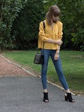 Yellow top look