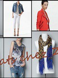 Achats chez Zara : perfecto jean, chemise col perles, t-shirt loups