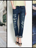 Jean boyfriend denim studio selvedge Zara