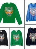 Sweat tigre Kenzo vs Sweat tigre Lunaticblue