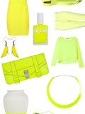Shopping Néon : jaune fluo