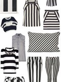 Shopping : Rayures noires et blanches