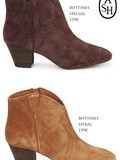 Bottines Ash collection automne hiver 2012 /2013 : special & spiral