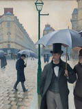 Paris : Caillebotte, peintre du Paris haussmannien, chantre inquiet de la modernité