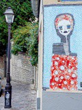 Sunday Street Art : Alo - rue de la Mire - Paris 18