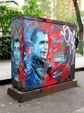 Sunday Street Art : C215 - boulevard Richard Lenoir - Paris 11