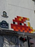 Sunday Street Art : Invader - Villa de Guelma - Paris 18