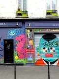Sunday Street Art : Kashink et Kranik - rue Juliette Dodu - Paris 10