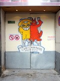 Sunday Street Art : Monsieur Chat - rue Pierre-au-Lard - Paris 4