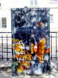 Sunday Street Art : Naoh - place Paul Verlaine - Paris 13