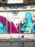 Sunday Street Art : Retro - boulevard de la Villette - Paris 19