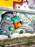 Sunday Street Art : Un Kolor Distinto - rue des Thermopyles - Paris 14