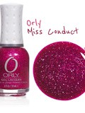 Orly Miss Conduct // Coup de coeur rose holographique