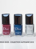 Vernis à ongles Dior – Automne 2015