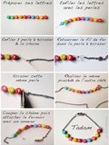 Diy Le bracelet narcissique coloré