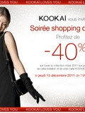 Soirée shopping de Noël Kookaï *** Save the date