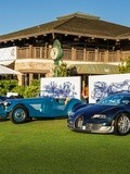 Pebble Beach 2015, Bugatti sous le soleil de la Californie