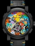 Romain Jerome Tourbillon Pokémon, entre luxe et pop culture