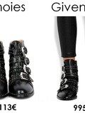 Best dupes des boots Givenchy Elegant