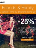 Bon plan shopping : Etam à -25%