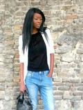 Boyfriend chic - The white blazer