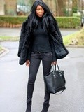 Look all black n°98389482 + Dilger boots