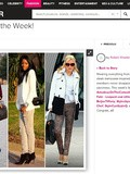 Look of the week sur Popsugar
