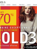 Soldes 3 Suisses + ma selection shopping