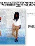 Style du week-end sur Fabsugar
