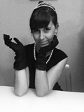 Mon costume d'Halloween: Audrey Hepburn dans Breakfast at Tiffany's