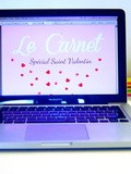 {Oh my Blog!} Le Carnet Oh my Blog! n°2 - Edition de Saint Valentin