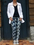Le pantalon fleuri (look 5) #project 333