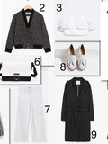 Shopping list: en noir et blanc