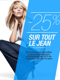 Bon plan Shopping | gap 25% de réduction sur tout le Jean