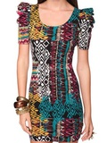 I want Forever 21 Fitted Tribal Dress