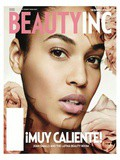 Joan Smalls en couv' de wwd Beauty Magazine