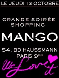 Shopping Party mango | Save the date