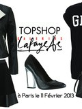 Topshop ouvre un pop-up store aux Galeries Lafayette (photos des articles en vente)