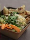 Food: thaï chicken salad